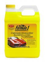 CARNAUBA WASH & WAX Formula 1® Шампунь + полироль (2 в 1) с воском Карнаубы, 946 мл
